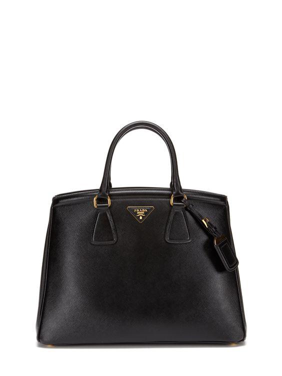 Prada Saffiano Lux Shopping Tote
