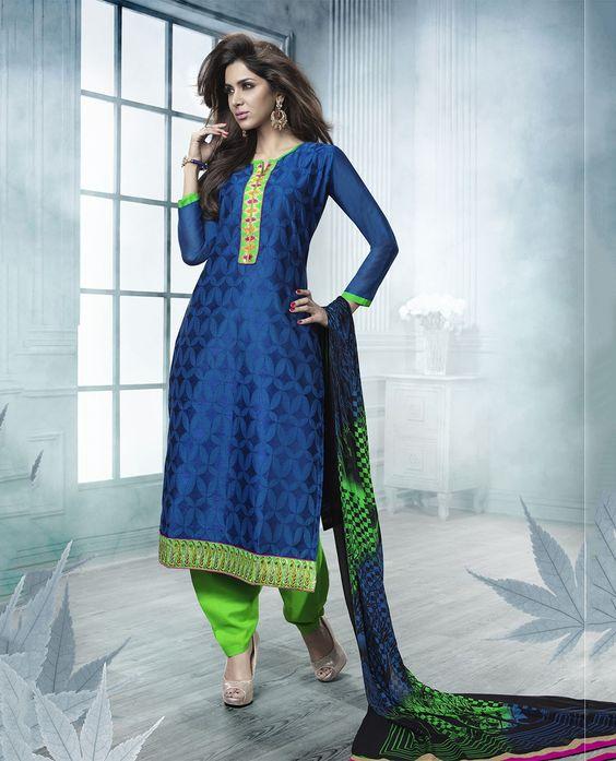 CMK52004 - Unstitched Chudidhar - Women Wear