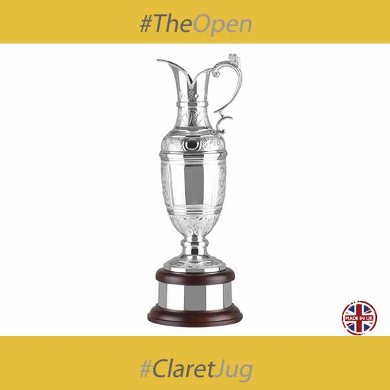 Congratulations to Rory McIlroy of Northern Ireland, who won the coveted Claret Jug at the British Open this weekend making McIlroy a member of a very small elite of players who have won three grand slams at the age of 25.   Rory may well have the 'real' claret jug, which of course is pretty much priceless, adorning his trophy cabinet for the next 12 months, but if you want something nearly as prestigious for your golf tournament then have a look at this one.