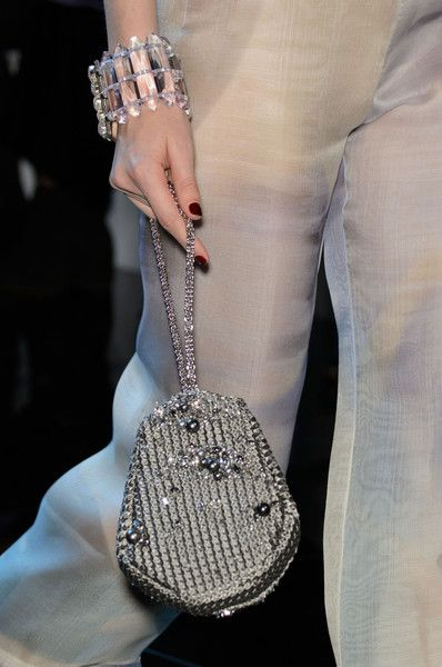 Armani Prive, Spring 2016 - The Chicest Runway Handbags of Spring 2016 - Photos