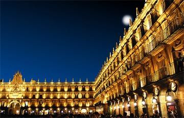 the Plaza Mayor in Salamanca, I was here everyday when I lived here!