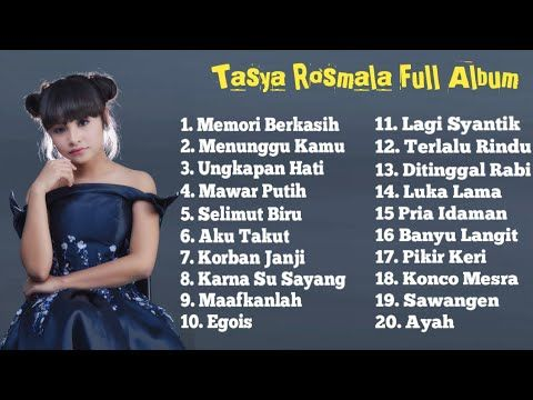 Tasya Rosmala Full Album Terpopuler Pilihan Top 20 Lagu Paling
