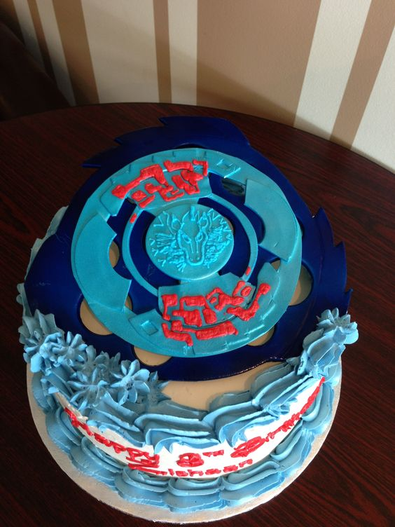 Beyblade Cake And Cakes On Pinterest