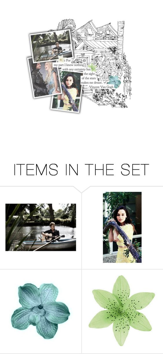 """Hayley Gibson 6.5 Part 3"" by laughloveandgiggles ❤ liked on Polyvore featuring art, fans and KingBenjaminSelectionBonus"