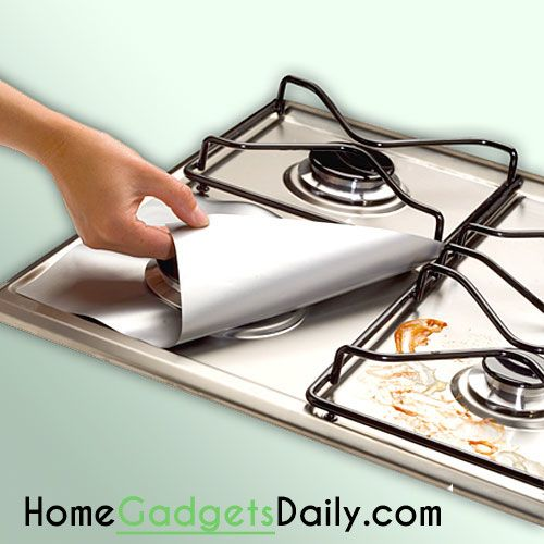 Magic Clean Stove Keeper #cleaner #stovetop #gas #magic #keeper #clean