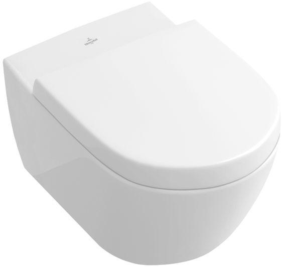Subway 2 0 Washdown Wc With Open Flushing Rim Villeroy Boch Villeroy Boch Subway Subway 2 0 Moderne Toilette