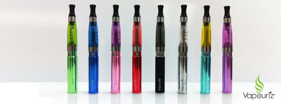 Why don't you customize your ecigarette with coloured clearomizers and batteries.