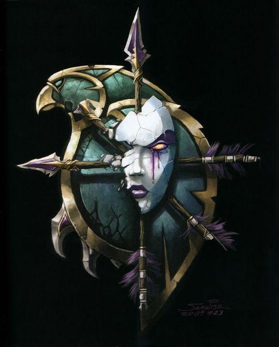 На экране: The_Art_of_World_of_Warcraft_p031.jpg.