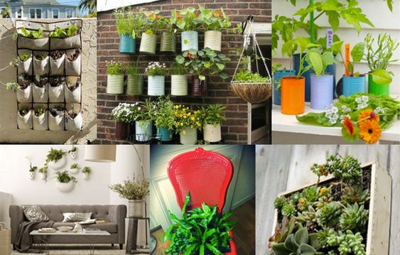 D co fils and plantes on pinterest - Idee deco petit appartement ...