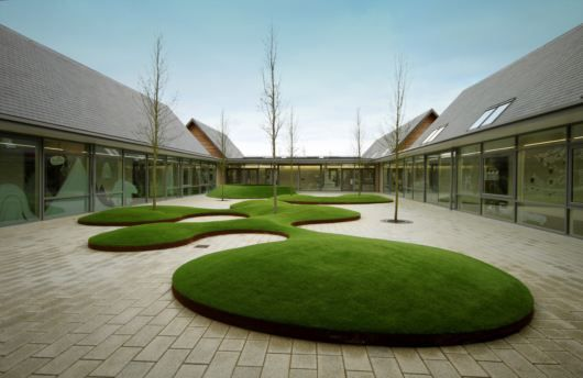 Schools courtyards and ali on pinterest for Courtyard architecture design