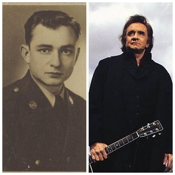 Johnny Cash-Air Force-1950-54-Morse code intercept operator for Soviet Army transmissions-Staff Sergeant (Singer)