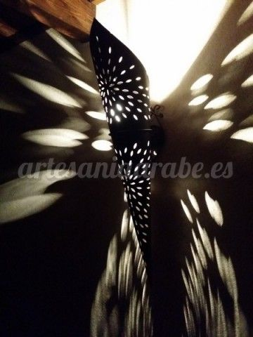 Decorar con apliques de metal y aluminio artesan a rabe - Artesania y decoracion ...