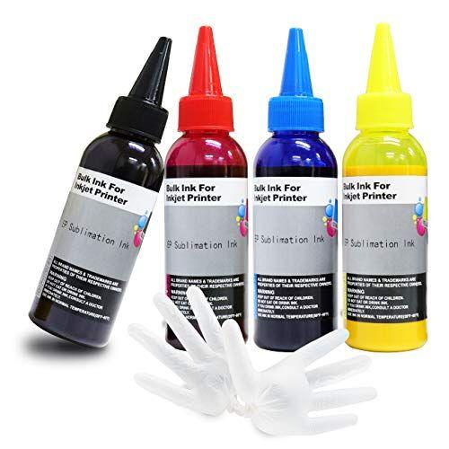 Seogol Sublimation Ink For Epson Ecotank Workforce Printers Et 2720 Et 2760 Et 2750 Et 15000 Et 4700 Et 3760 Wf 7710 Wf Zelinks Amzn Ink Toner Ink Refill Epson Inkjet Printer