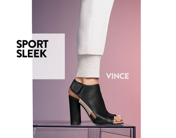 Sport sleek: contemporary women's shoes from Vince.