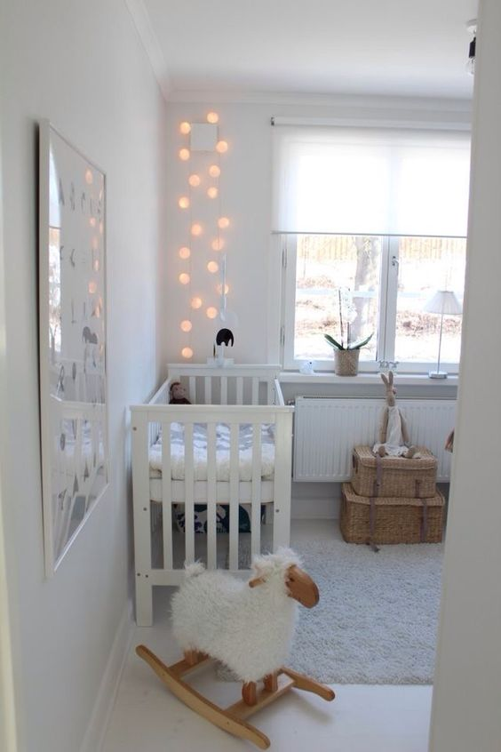 Baby Room Decoration #white #grey #yellow #neutral #unisex: