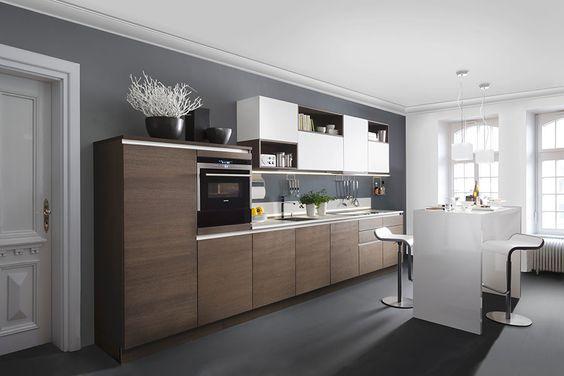 Rational Nolte Nobilia Bauformat - Küchen am Hopfenmarkt - nolte kchen mit kochinsel und theke