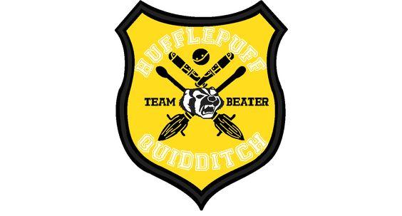 my quidditch team player badge