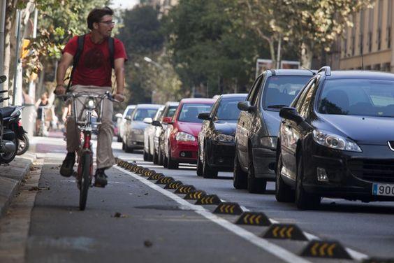 Deixa el cotxe i agafa la bicicleta!
