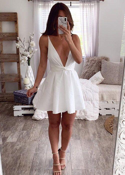 vestidos decotados 2022