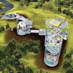Anyone want to live in a missile silo? 2500 of main living space plus 14 floors of fun in the main silo. WOW: