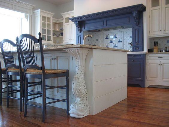 blue Kitchen  Project Lamb  Pinterest  Nautical Kitchen, Nautical