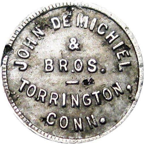 Torrington Connecticut Good For Token John De Michiel