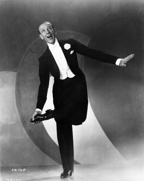 Fred Astaire. White tie and tails.