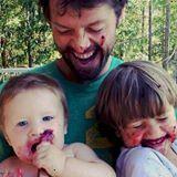 Misha and babies
