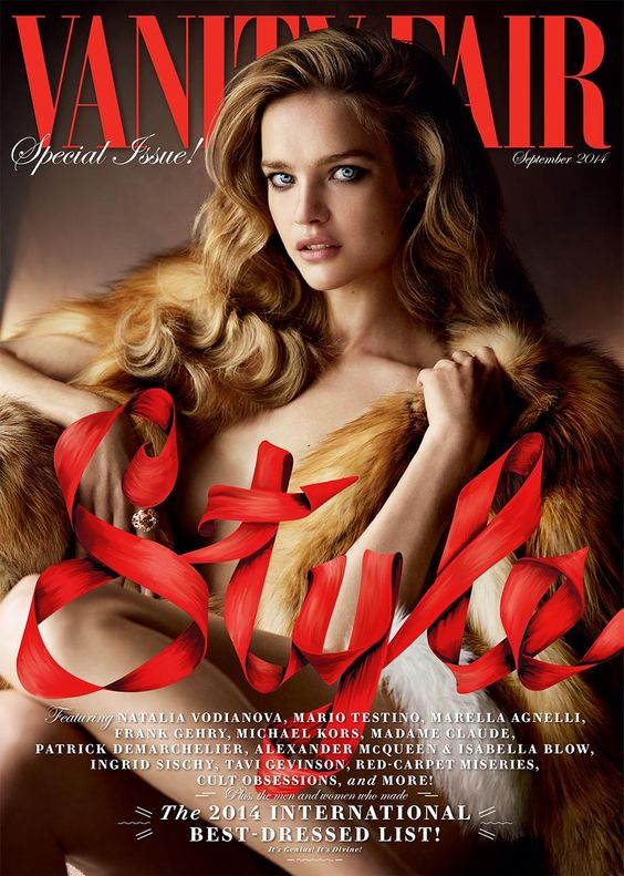 Natalia Vodianova by Mario Testino for Vanity Fair September 2014