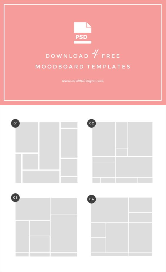 free moodboard templates tutorial editor graphics and design process. Black Bedroom Furniture Sets. Home Design Ideas