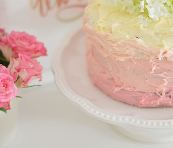 PINK OMBRE TRIPLE LAYER CAKE RECIPE | Apartment Number 4 // A UK Interior Design, Fashion and Lifestyle Blog