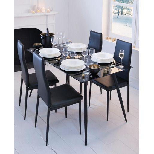 Decorative Bien Qu Epuree Cette Chaise Noire Tres Tendance Est Un Atout Elegance Pour Votre Interieur Dotee D Une Bonne Assise E Chaise Noire Chaise Design