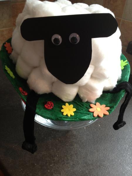 Brilliant Shaun the Sheep Easter bonnet.