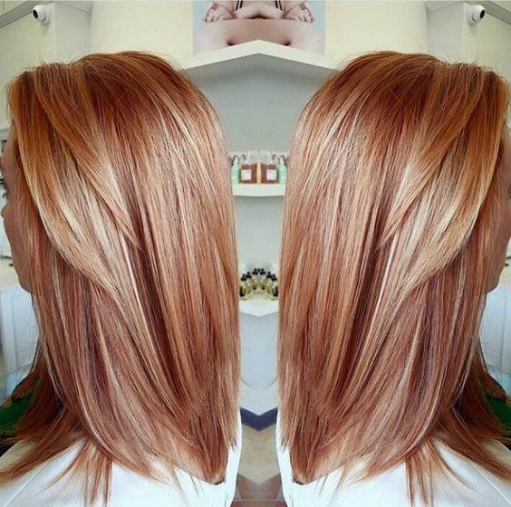 Strawberry blonde