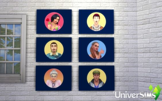 Simoticones by Bouckie at L'UniverSims • Sims 4 Updates
