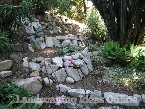 Ideas For Building My Rock Wall In The Flower Garden | Gardening |  Pinterest | Retaining Walls, Rock Retaining Wall And Rock