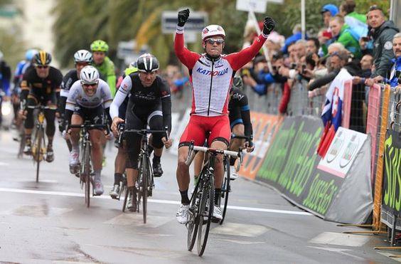 Alexander Kristoff (Katusha) wins Milan-San Remo