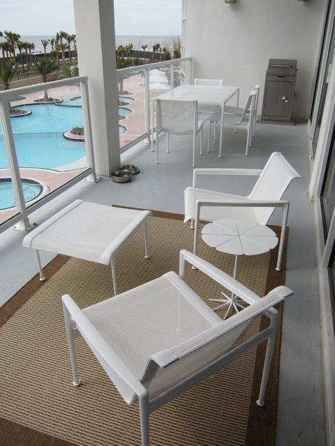 Small patio furniture condo living pinterest small for Small condo balcony furniture
