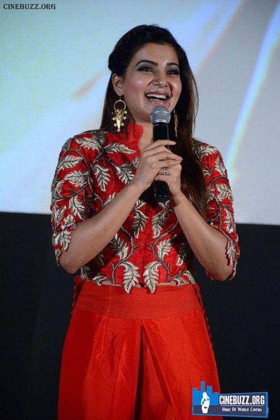 Samantha Ruth Prabhu At Enakkul Oruvan Audio Launch