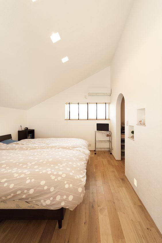 フットライト 寝室 コーディネート例