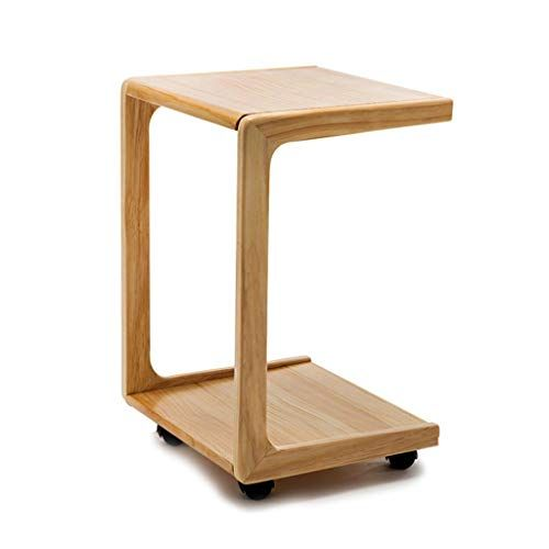 Perfect Furniture Csq Sofa Side Table Creative Wooden Movable Bedside Table Bedroom Living Room Tea Table L Simple Side Tables Sofa Side Table Side Table Wood