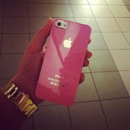 pink iphone<3