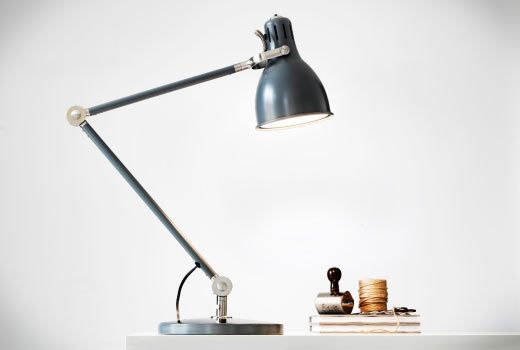 Work Lamp Ar 214 D Grey Guest Rooms The Study And The Studio