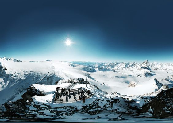 UNGLAUBLICH WUNDERVOLL! Aussichtsplattform Matterhorn glacias paradise #schweiz #switzerland #suisse #bestofswitzerland #zermatt