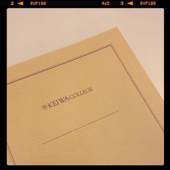 Keiwa College Notebook