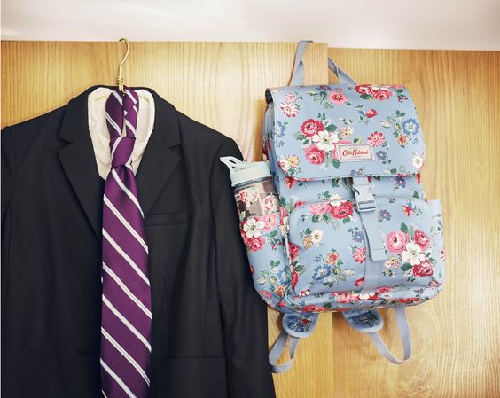Uniform washed, bag packed, alarm set…and we'll probably still be late to school! | Cath Kidston Autumn Winter 2016 |