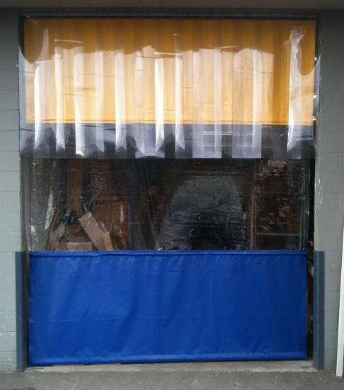 Patio Curtain 10 Ft Width X 8 Ft Height Custom Colors Available Roll Up Doors Patio Curtains Outdoor Curtains For Patio