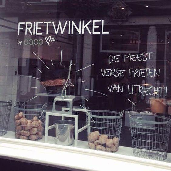 • Meest verse frieten van Utrecht! • #dapp #dappbiofood #bio #biologisch #frieten #versefrieten #organic #utrecht #hotspot
