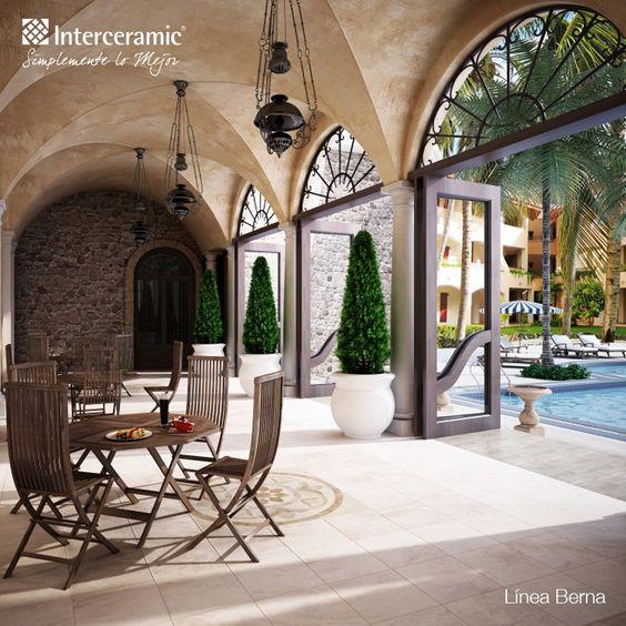 Lo mejor en pisos para terrazas y exteriores en for Mosaicos para pisos exteriores