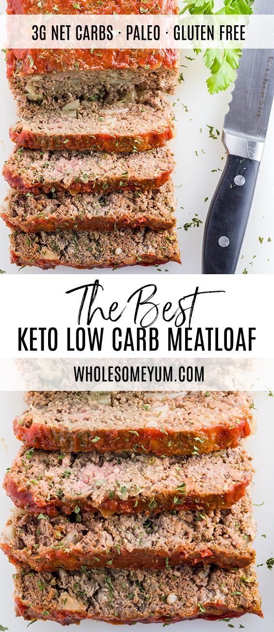Low Carb Meatloaf Paleo Gluten Free This Gluten Free Paleo